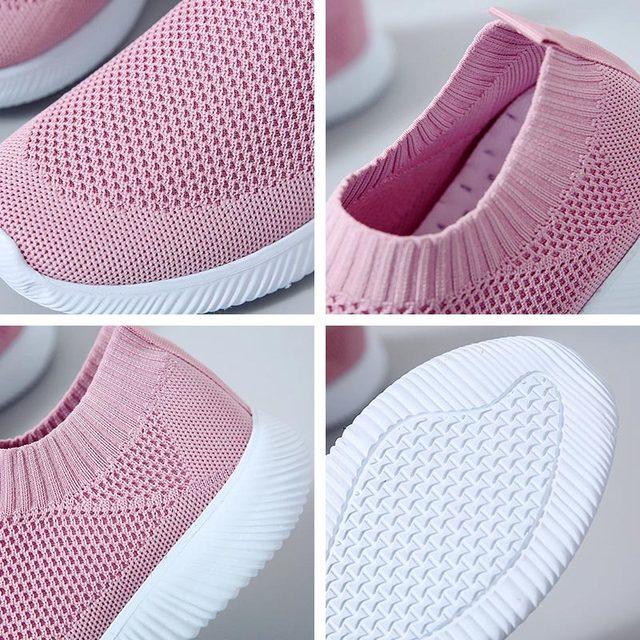 Sneaker Women Flat Heel Shoes Casual Breathable Basket Femme Sneakers Woman Zapatillas Mujer Sports Shoes Ladies Tenis Feminino 5