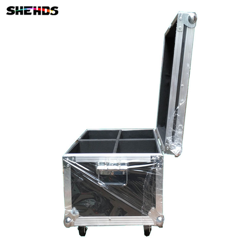 Flight Case with 4 pieces 2eyes 200W LED COB Blinder Cool and Warm White/ Cool White/Warm White Lighting for Disco KTV Party