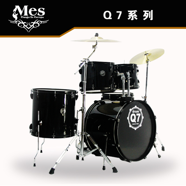 Q7 drums 5 drum 3 cymbals Professional 8 color beginner adult     Q7 drums 5 drum 3 cymbals Professional 8 color beginner adult children to  practice drums