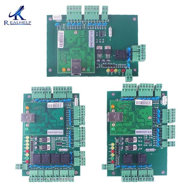 Placa de Control de acceso WAN TCP/IP, tarjeta de Control de acceso, sistemas de entrada de puerta WG26 34, soluciones de seguridad, placa de Control IP