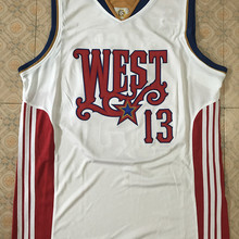 13 Steve Nash 2008 west all star retro Throwback Men s Basketball Jersey  Stitched Customize any Number e1c5ada9f