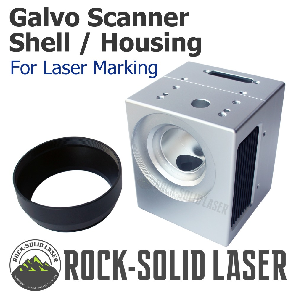 Fiber Laser Galvo Scanner Head Housing Shell Casing Galvanometer Scanning Laser Marking Machine Parts Factory Wholesale 1064 fiber laser engraving machine galvo scanning scanner