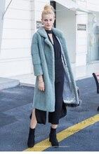 LVCHI mink coats 2016 New Arrival Super Warm Winter Women's Real Silver Fox Fur Coat Natural Fox Color  Full Sleeve Jacket