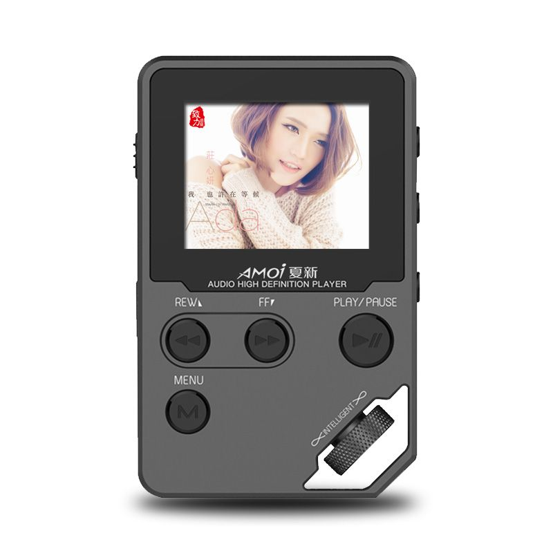Yescool C10 Lossless Hifi Music Player 1.8 inches HD Screen Portable Player Support Video playing E-book Record Sound image