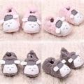 Lovely Baby Boys Girls Winter Warm Plush Booties Infant Soft Slipper Crib Shoes 0-12M