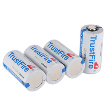 цена на 20PCS/LOT High Quality TrustFire Lithium CR123A 3V 1400mah Battery 3.0V lithium battery batteries Free Shipping