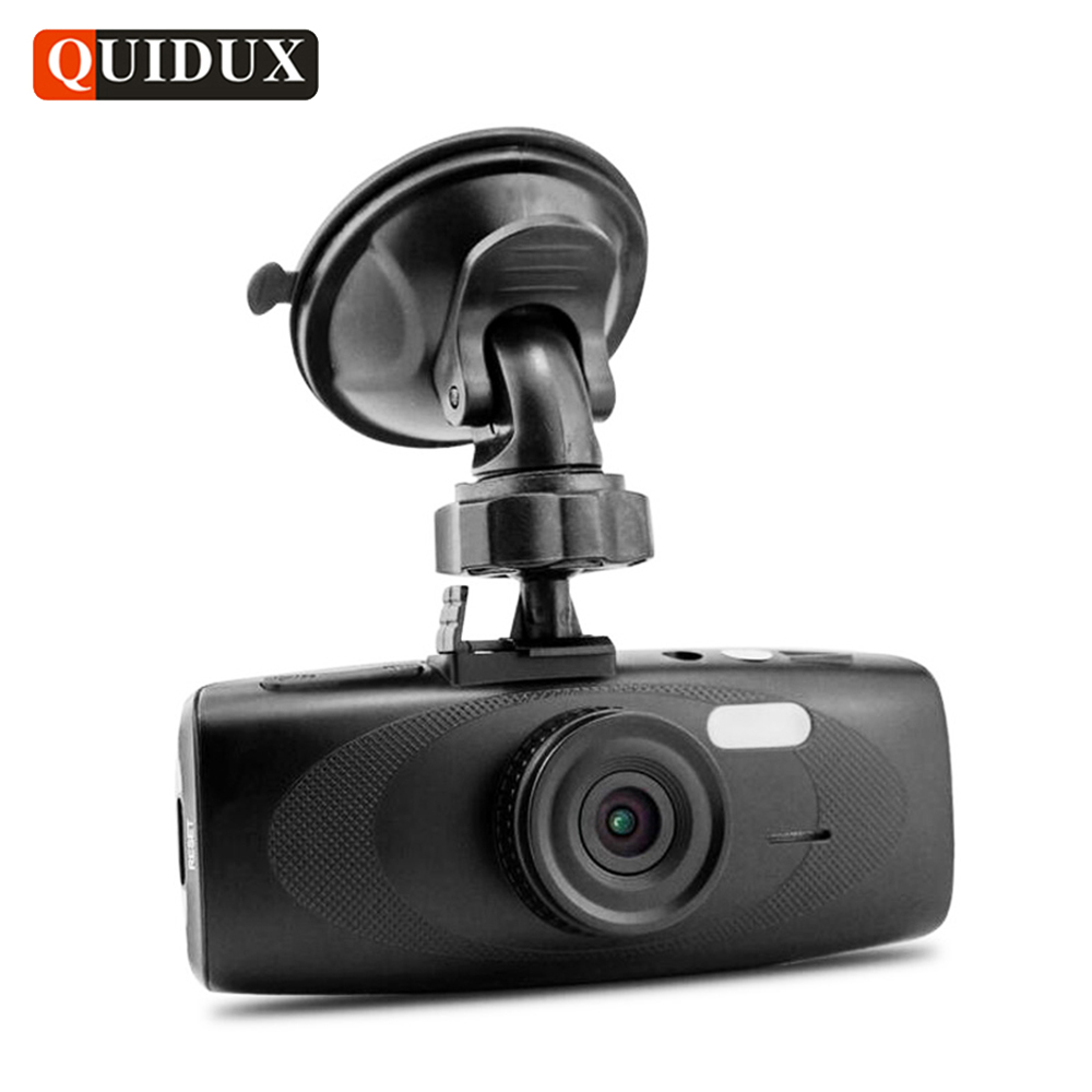 QUIDUX Car DVR Full HD 1080P WDR Night Vision Dashcam G sensor Motion Detection 2.7 inch Car Video Camera Recorder Blackbox full hd 1080p vehicle blackbox dvr with g sensor