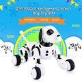 Control remoto inalámbrico inteligente perro Robot inteligente 2,4G juguete de perro Robot parlante niños juguete electrónico mascota Regalo de Cumpleaños DIMEI 9007A