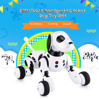 Wireless Remote Control Smart Robot Dog Intelligent 2.4G Talking Robot Dog Toy Kids Toy Electronic Pet Birthday Gift DIMEI 9007A