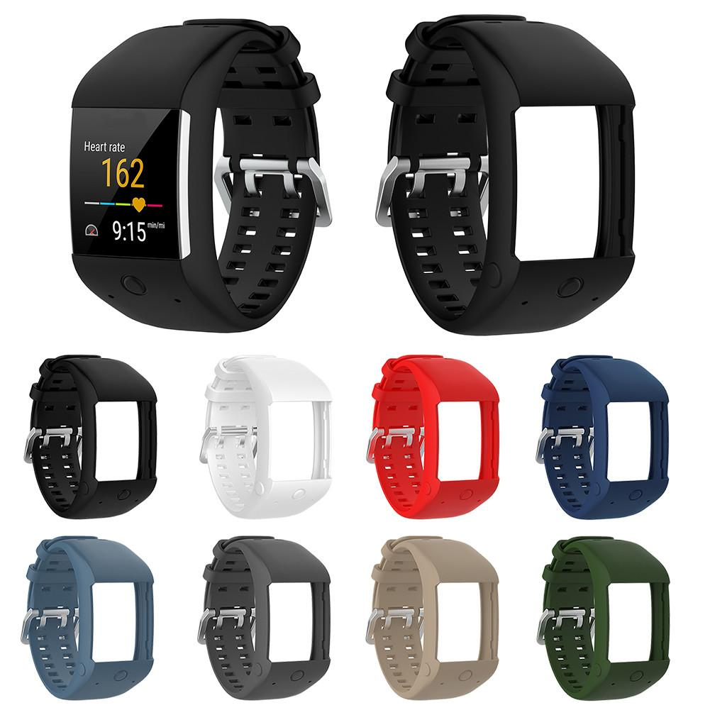 High Quality Comfortable Silicone Replacement Watch Band Wrist Strap For Polar M600 Smart Watch Wristband Strap