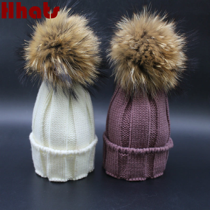 Which in shower children winter beanies with removable real raccoon fur pom pom ball top thick warm knitted kids fur hats caps hair company hair company шампунь с минералами и экстрактом жемчуга hair light mineral pearl shampoo 255879 lbt14050 250 мл