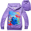 4 pieces/lot 2016 Fashion Children T-Shirt Girls Tops Finding Nemo Kids Baby Girls Boys T shirts Child Clothes Clothing For Boy