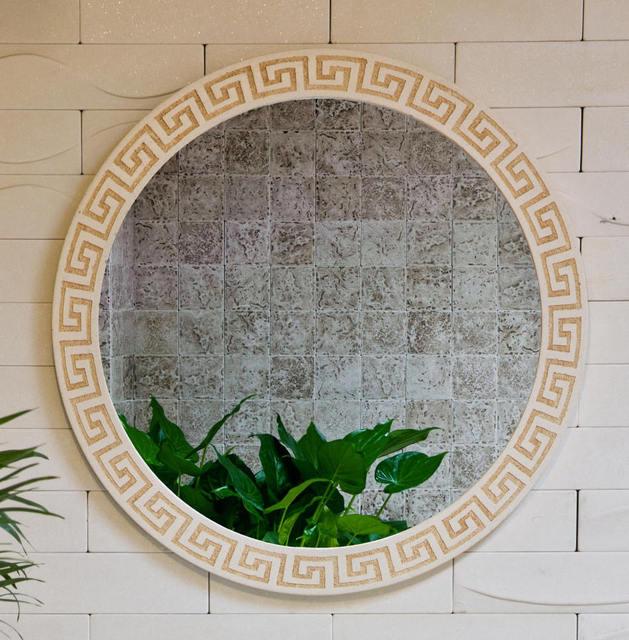 Meaka Jiaou Ming Style Antique Wash Basin Counter Basin Glyph