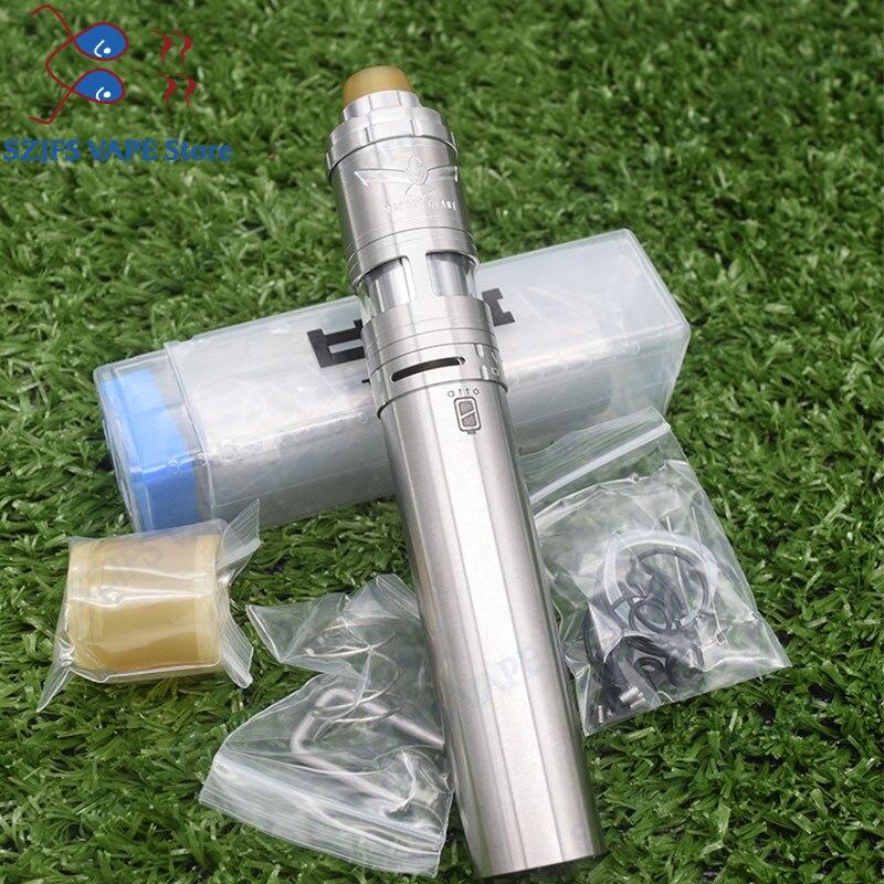 SXK Atto Mech Mod 316ss Styled 18350/18650 Battery Vape Vapor Giant V6S 23mm RTA 316ss Adjustable 6ML Capacity Atomizer Vs Ijust