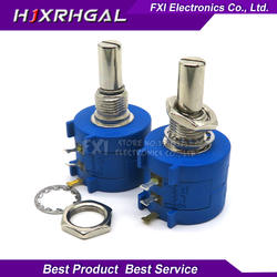 1 шт. 3590S-2-104L 3590 S 100 К Ом 3590S-2-104 3590S-104 точность многооборотный потенциометр 10 кольцо переменный резистор