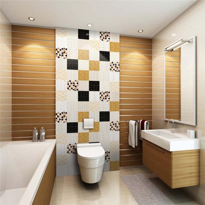 Aliexpress.com : Buy 60x200cm Retro Tiles Wall Stickers ...