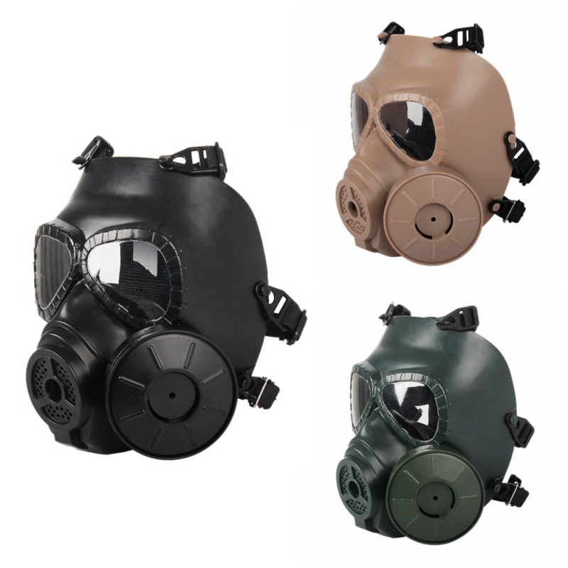 M40 Single Fan Gas Mask CS Filter Paintball Shooting Tactical Army Military Guard Airsoft Helmet FMA Capacetes De Motociclista