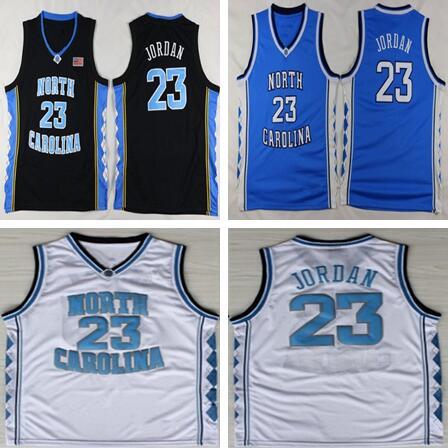 цены Dwayne Throwback Men's Michael Jordan 23 College Jerseys North Carolina Tar Heels Basketball Jerseys Stiched Size S-XXL