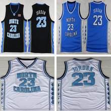 f94b47acc Dwayne Michael Jordan 23 Faculdade dos homens Reminiscência Jerseys North  Carolina Tar Heels Basketball Jerseys Tamanho