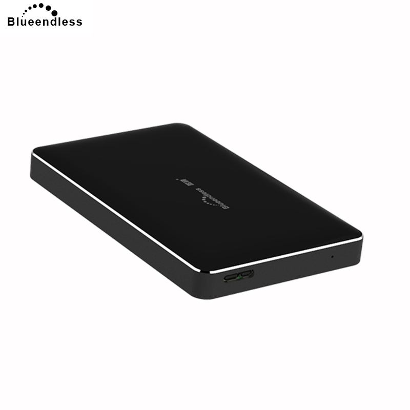 Blueendless 2018 USB Hard Disk Metal+ABS Plastic External Hdd 1TB Hard Drive 2.5' Sata USB for Laptop Disco Duro Externo&30 fast speed high external hard drive 1tb hdd enclosure sata usb 3 0 hard disk disco duro externo 1tb sata usb aluminum hdd disk