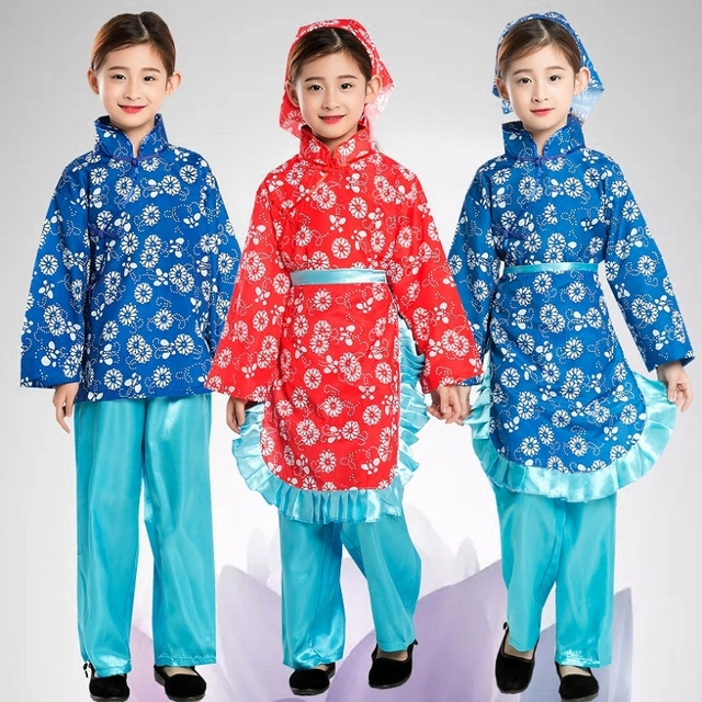 chinese traditional clothing for small country girl