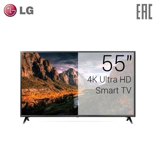 "Телевизор LED 55"" LG 55UK6300 4K UHD SmartTV"
