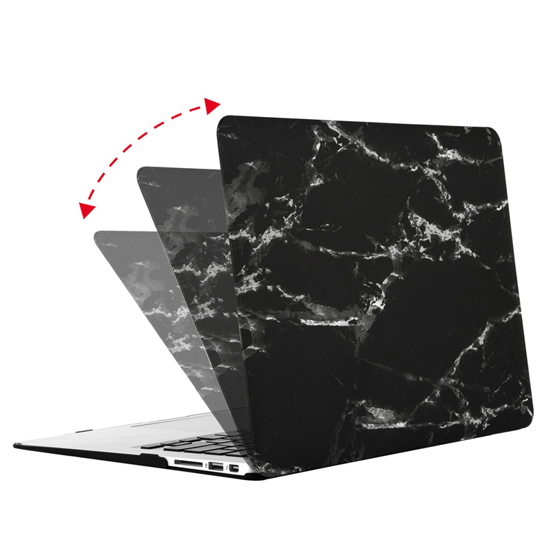 Image 4 - MOSISO 2019 Hot Sale Marble Pattern Laptop Case For Apple MacBook Pro Retina 13 15 Hard Case For MacBook 12 inch +Keyboard Cover-in Laptop Bags & Cases from Computer & Office