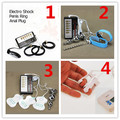 Electric Shock Kit 4 Combination For Choose Electro Shock Massagers Sets ,E-Stimulation Medical Themed Sex Toys For Adult Game