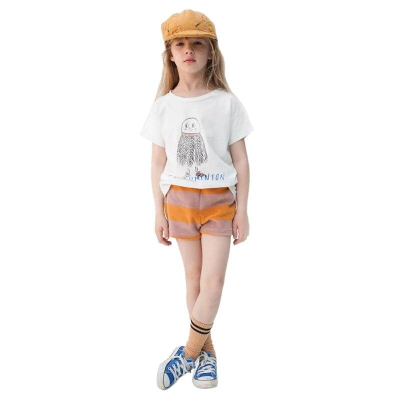 Summer Clothes Kids Baby Cartoon T Shirts Boys Girls Tees Tops Children Tshirt Toddlers Baby Clothing Shirts