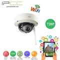 Ipcc 720 p 1.0mp cámara ip inalámbrica sistema de vigilancia de cámaras de seguridad cámara domo ip wifi inalámbrica wi-fi