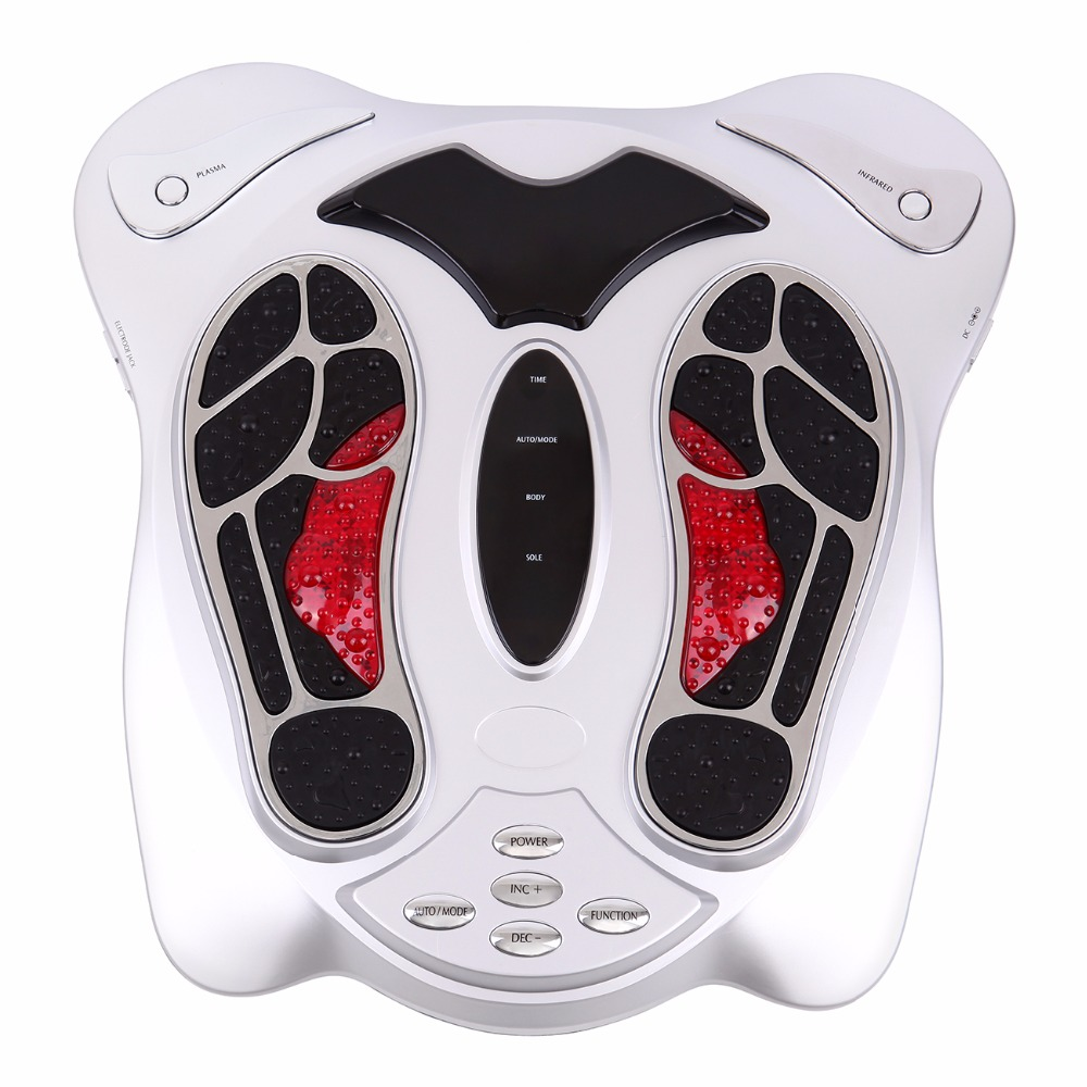 (Ship from AU) Foot Massager Electromagnetic Wave Pulse Circulation Booster with Remote Controller Healthcare Beauty Feet