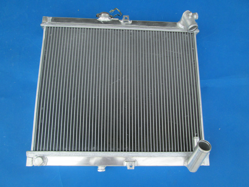New aluminum racing radiator for Mazda RX7 FC3S RX-7 FC-3S S4 MT 86-88 87 1988 1987 brand new