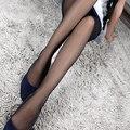 Hot summer sexy das mulheres longas meias finas semi sheer calças justas pé cheio meia-calça calcinha magras varejo/atacado 5ati