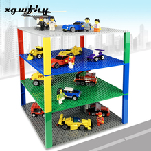 10 Color 32*32 Dots Base Plate for Small Bricks Baseplate Board Compatible figures DIY Building Blocks Toys For Children jm237