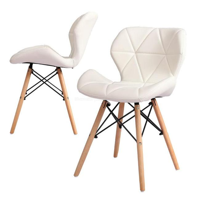 Dining chair Nordic modern minimalist economy home small apartment solid wood restaurant dining chair