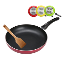 Double Layer Bottom Pan Non Stick Smokeless Fryer Pan Aluminum Alloy Steak Frying Cooker Gas And