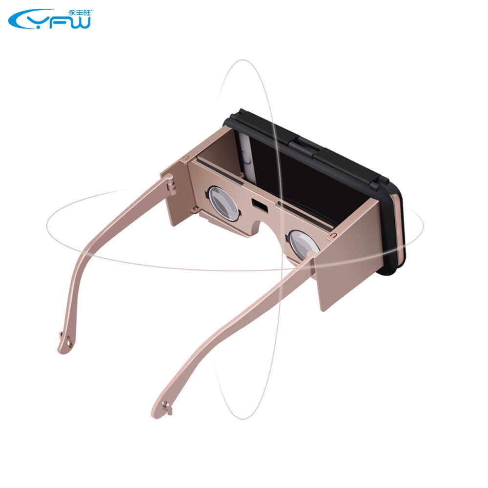 YFW Virtual Reality 3D VR Glasses VR Case Phone Case Phone Cover Phone Stand 3 in 1 for iPhone 6 Plus/6s Plus 5.5inch
