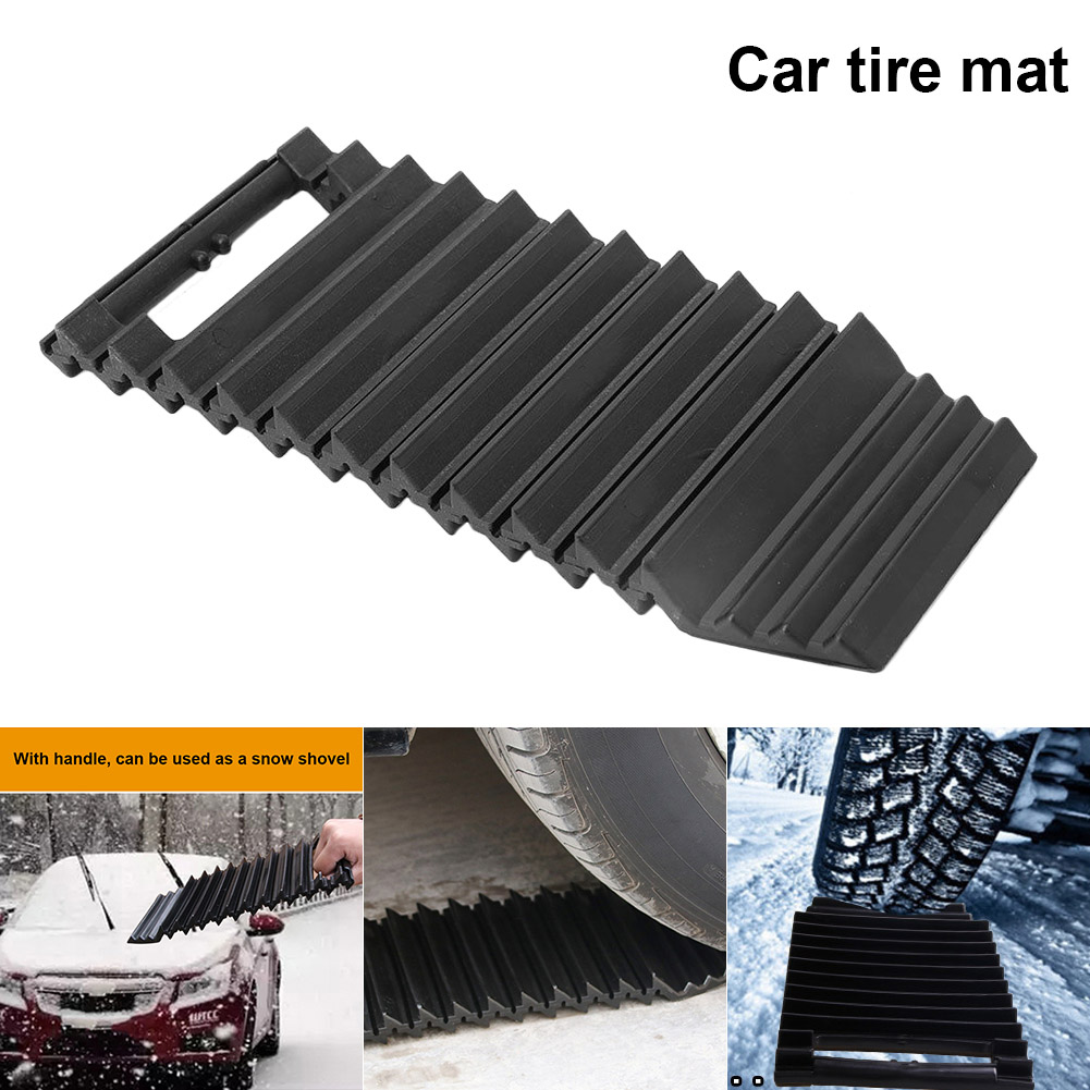 New Car Tire Anti-slip Mat Pad Traction Wheel Emergency Snow Shovel For Vehicles Auto CSL2018