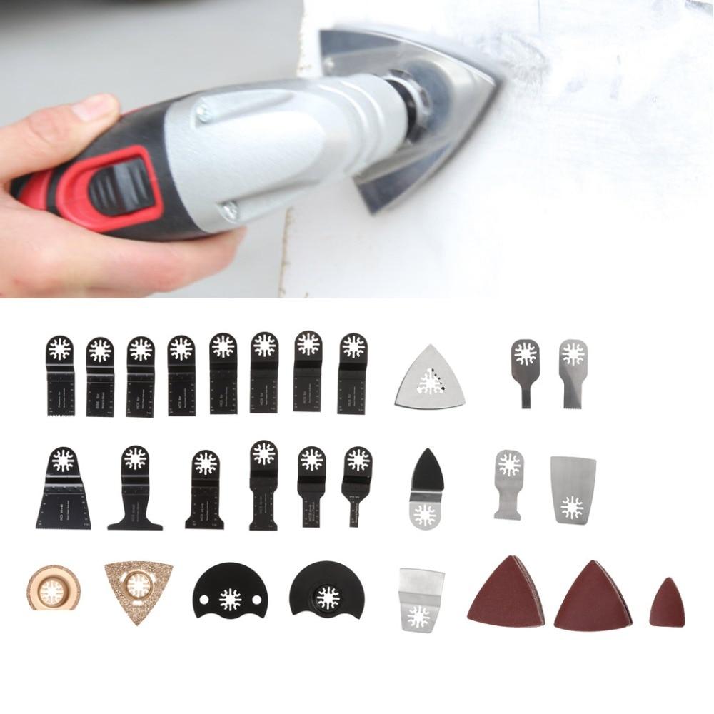 New 100Pcs Oscillating Multi Tool Saw Blade Accessories For FEIN BOSCH Makita