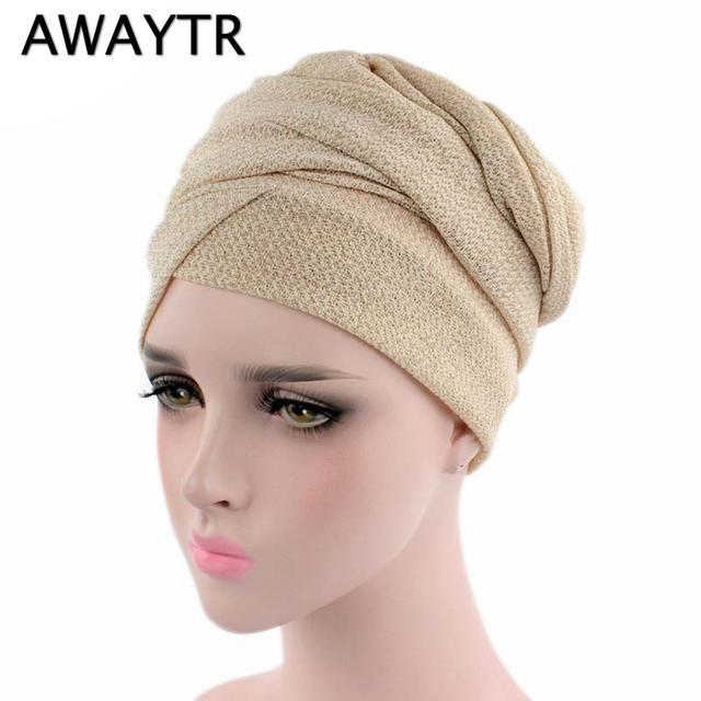 Turban Muslim Head Wrap Scarf