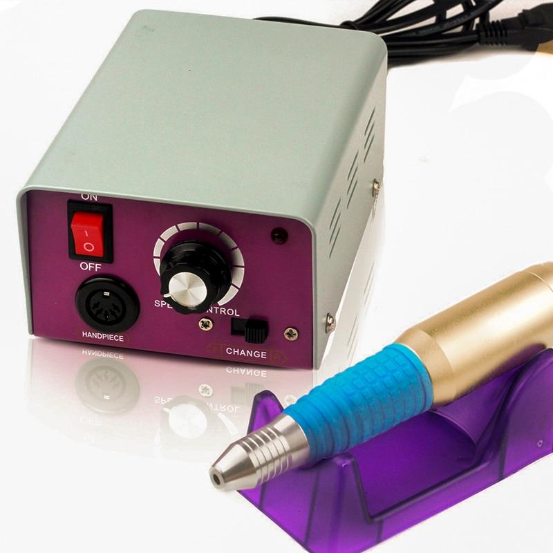 100 240V 25000 Rpm Professional Nail Polisher Tool Snail Art File Bits Manicure Kit Electric Nail