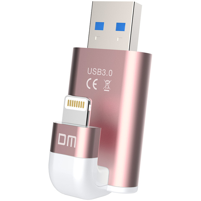 Бесплатная доставка DM APD003 USB3.0 МФО usb флэш-накопители для iphone для ipad внешние накопители usb флэш-диск