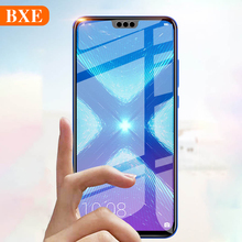 цена на BXE 9H Full Cover Tempered Glass For Huawei Honor 8 8X Max 8C Screen Protector For honor 8 c X Max Glass Protective Film 2.5D