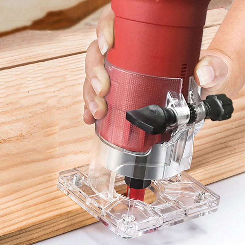 Machine de découpage de routeur de plastifieuse en bois électrique outil de travail du bois 220 v 800 w 30000 rpm tondeuse à main électrique précise pour outil en bois - 2