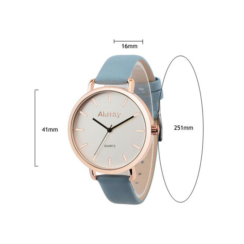 Abrray Fashion Dameshorloge Luxe Merk Lederen Band Horloge - Dameshorloges - Foto 2