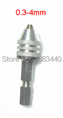 4mm Stable Keyless chuck 6mm 1/4'' Hex Shank Connecting Chuck mini drill driver attachment of power tools professional wall hole drill tools kit round shank spotting drill with connecting rod