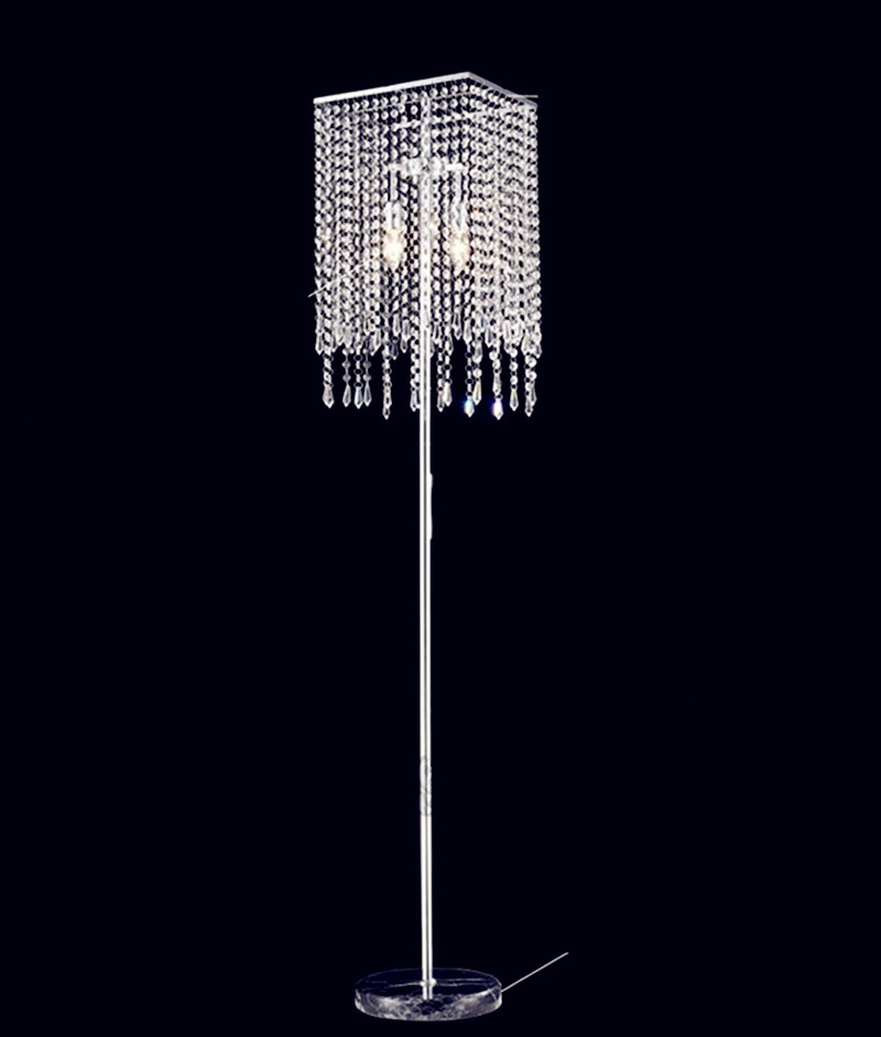 Modern Led Crystal floor Lamp for living room Bedroom Italy designed Floor Lighting Lambader e14 shopcase stand light fixtures modern wooden floor lamps bookshelf floor stand lights tea table standing lamp living room bedroom locker nightstand lighting