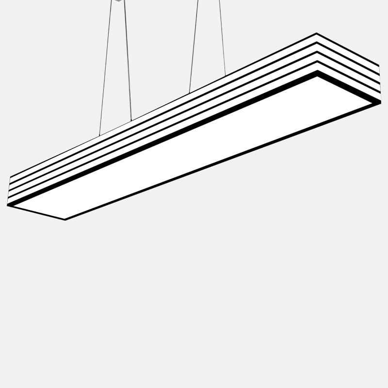 rechthoekige hanger lamp-koop goedkope rechthoekige hanger lamp, Deco ideeën