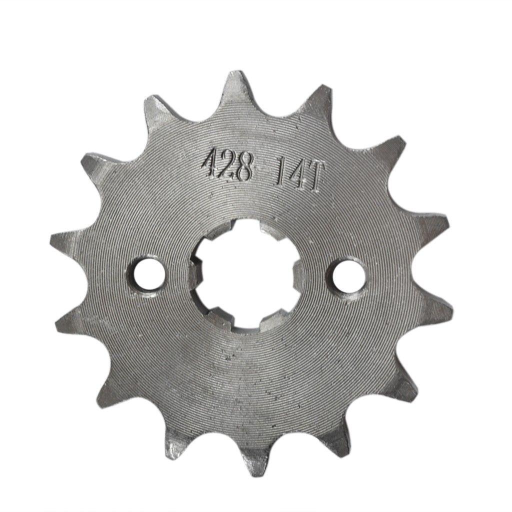 Oro Tensor De Cadena Ajustador 15mm L Rueda De Bloqueo Suciedad Pit Bike 110cc 125cc
