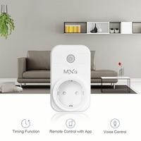 Tonbux UK US EU Smart Plug WIFI Wireless Switch Controls For IOS Android Google Home LED